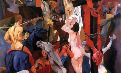 """DENTRO L'OPERA: """"CROCIFISSIONE"""" di Renato Guttuso."""