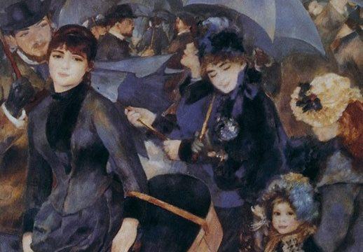 """Pierre-Auguste RENOIR: """"Gli ombrelli"""""""