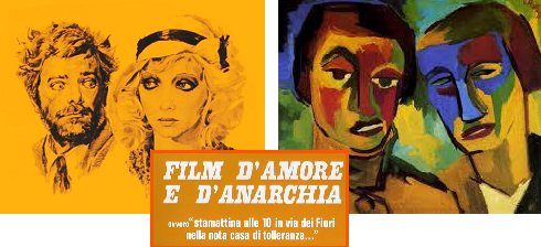 "Iconografia in ""Film D'amore e d'anarchia"""